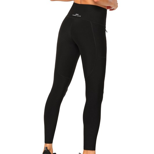 Lorna Jane Zip And Go Core Full Length Tight