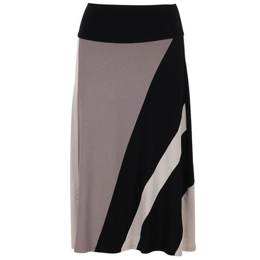 Paula Ryan Spliced A Line Skirt