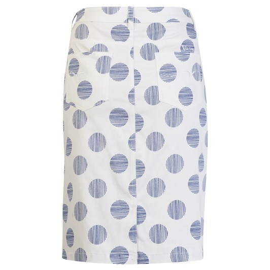 Vassalli LW Skirt Wcentre Back Vent Printed