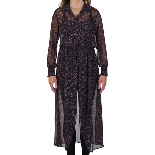 Vassalli Longline Shirt Dress LS