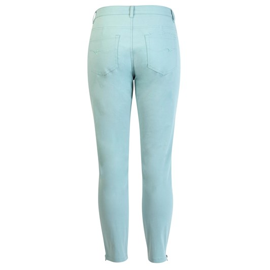 Vassalli Lower Rise Crop Jean Super Skinny With Ankle Zip