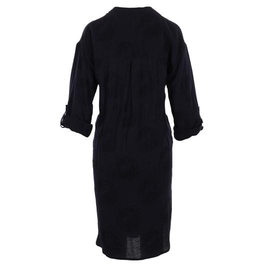 B Essentials Duster Shirt Dress Linen