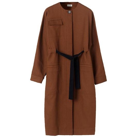 Malene Birger Tie-Belt Coat