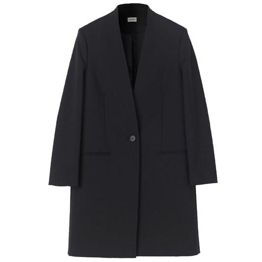 Malene Birger Collarless Coat
