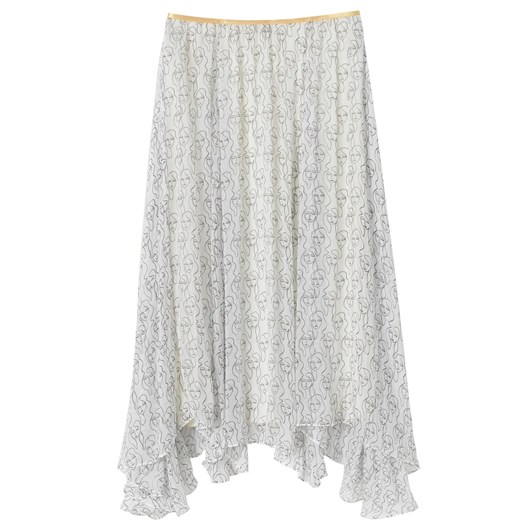 Malene Birger Georgette Skirt
