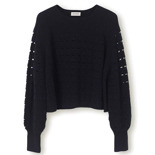 Malene Birger Pointelle Sweater
