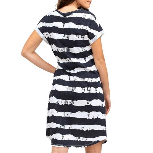 Yarra Trail Stripe Print Dress