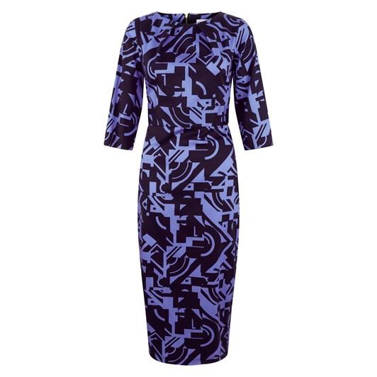 Closet 3/4 Slv Big Bow Dress