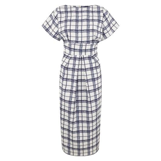 Closet Dress With Shaped Waistband