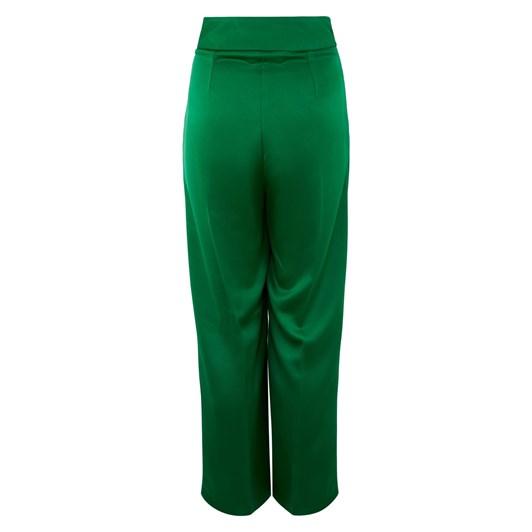 Closet Wide Leg Pleated Trousers