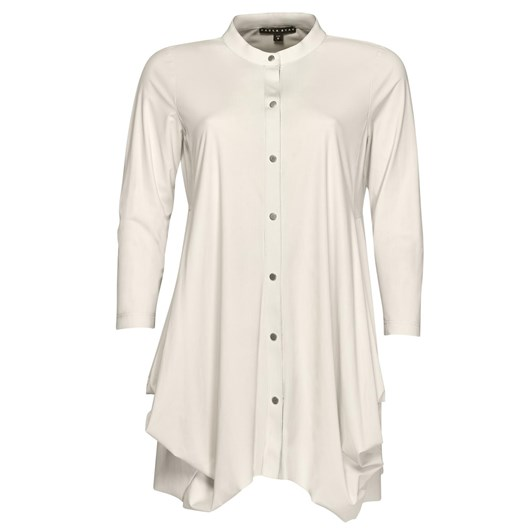 Paula Ryan Hitched Front Soft Sleeve Shirt