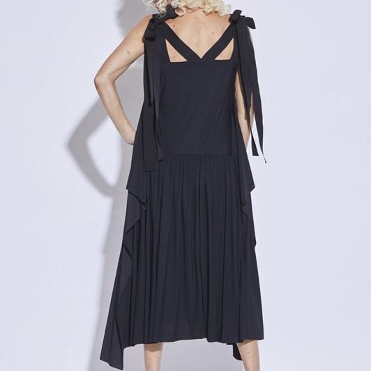 Paula Ryan Double Ribbon Shoulder Dress