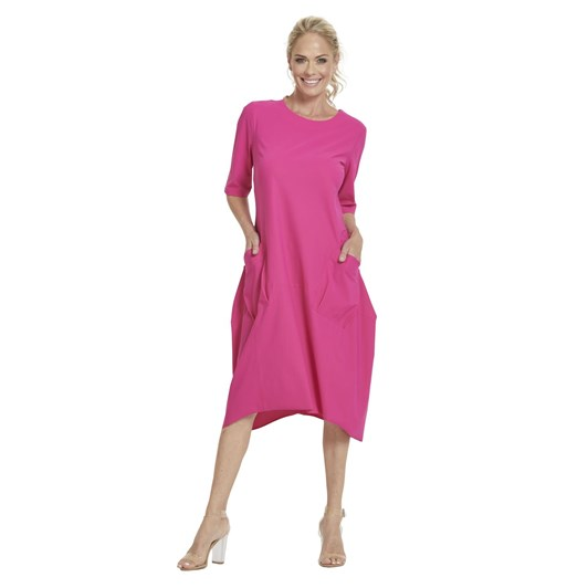 Paula Ryan Short Sleeve Bell Dress