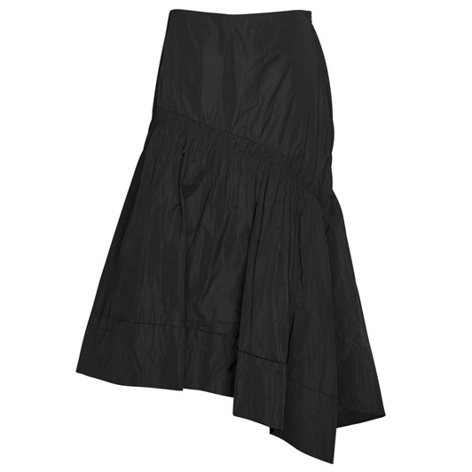 Paula Ryan Deep Basque Ruched Skirt