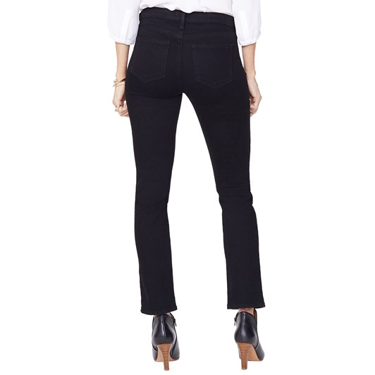 Not Your Daughters Jeans Sheri Slim Black