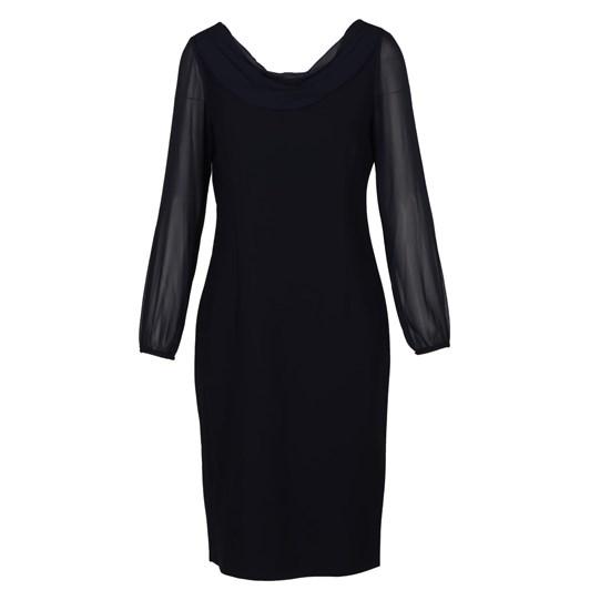 Lizabella Navy Dress