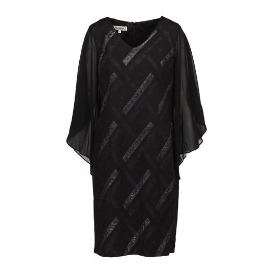 Lizabella Black Print Dress