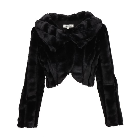 Lizabella Black Faux Jacket
