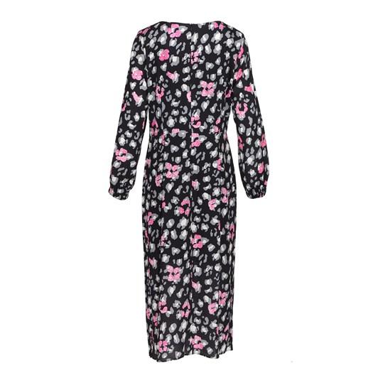 Ella Boo Black Pink Print Dress