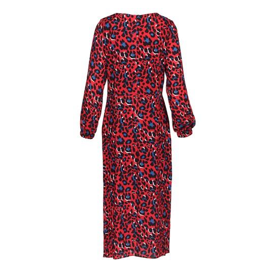 Ella Boo Red Print Dress