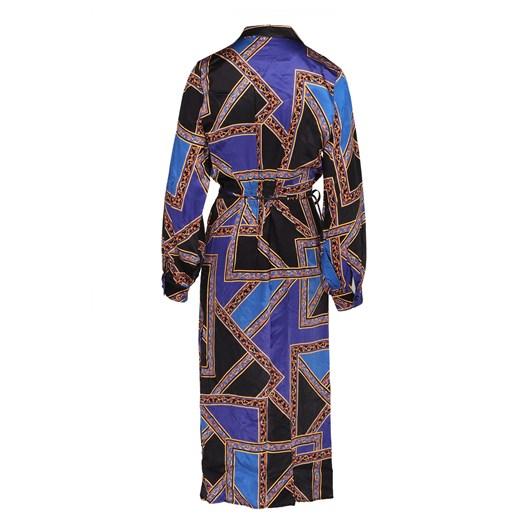 Ella Boo Blue Print Dress