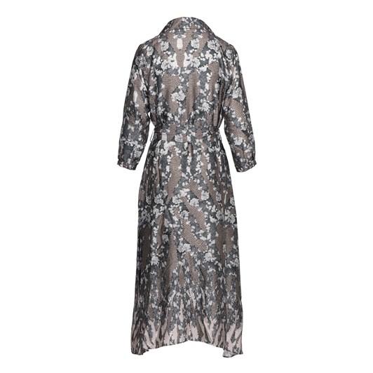 Ella Boo Beige Print Dress
