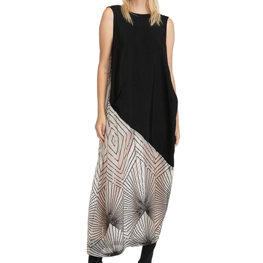 Taylor Contrast Surmise Dress