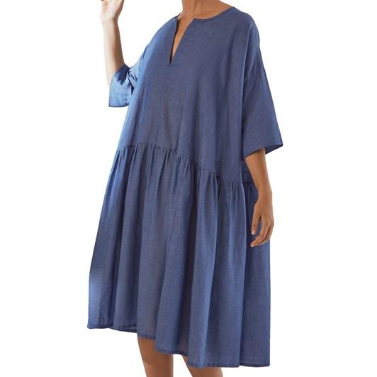 Kowtow Sketchbook Dress - Light Chambray