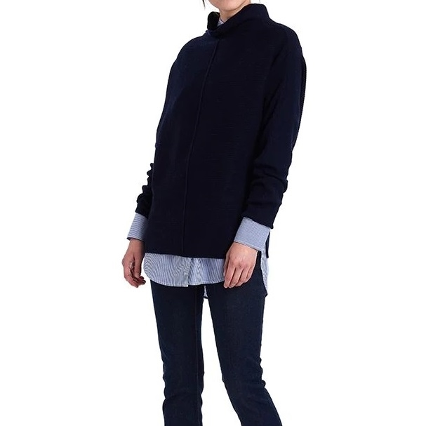 Barbour Bute Knit - navy