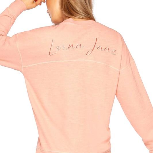 Lorna Jane Slouchy Lounge Long Sleeve Top