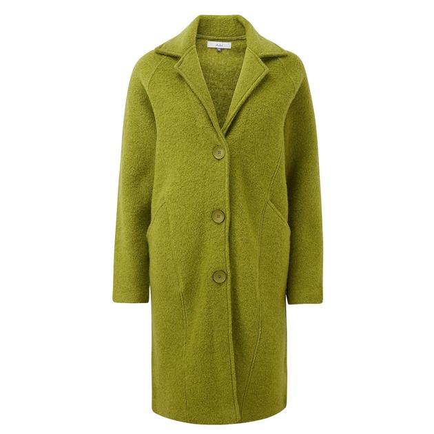 Adini Lucille Alpine Knit Coat - fern