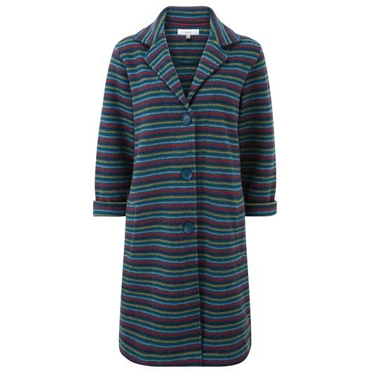 Adini Aubrey Yucatan Stripe Knit Coat