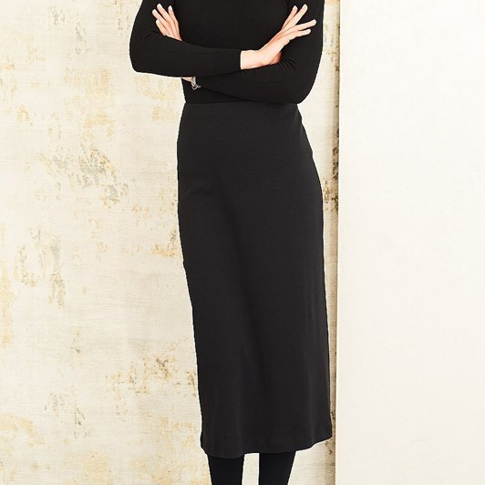 Adini Gracie Cotton Rib Skirt