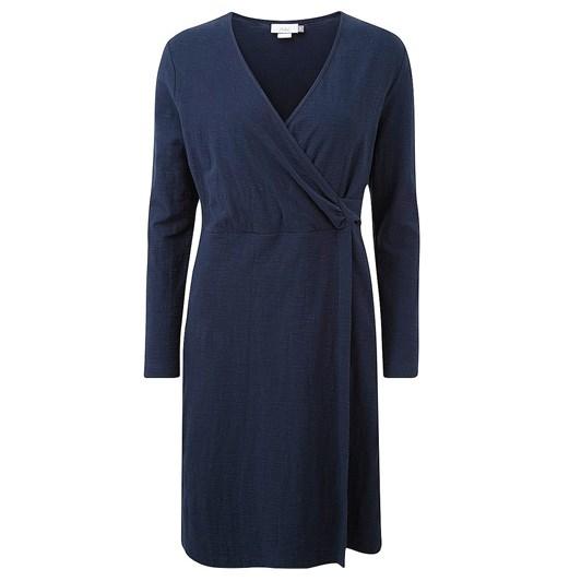 Adini Cammy Solid Cotton Slub Dress