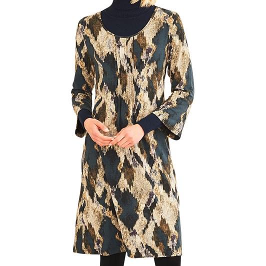 Adini Driftwood Print Dress