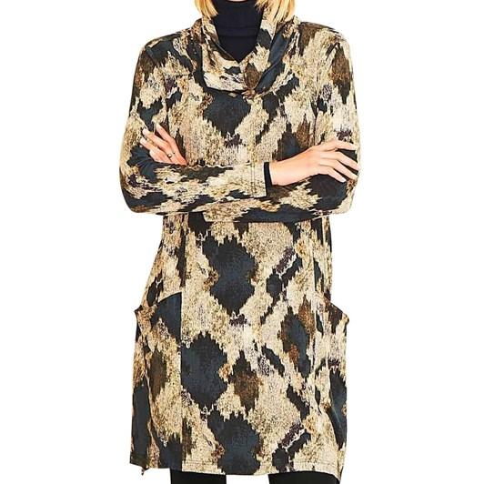 Adini Isabella Driftwood Print Tunic