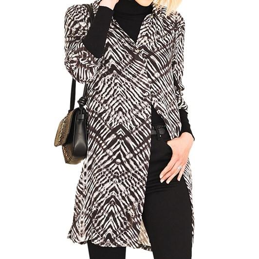 Adini Zara Winter Shibori Print Tunic