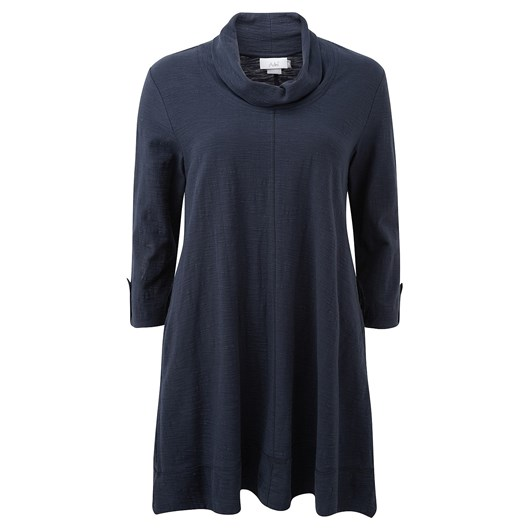 Adini Jodie Solid Cotton Slub Tunic