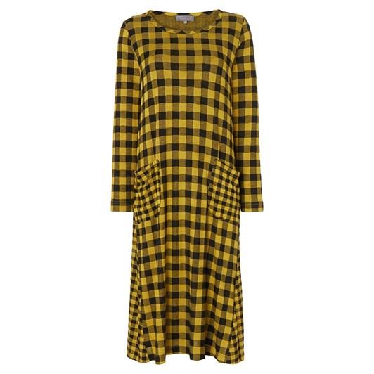 Sahara London Double Check Jersey Dress