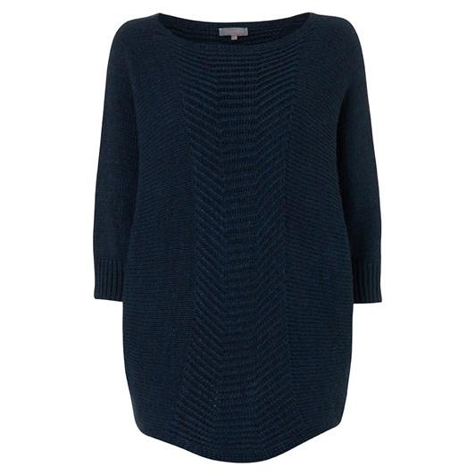 Sahara London Stitch Detail Mohair Sweater