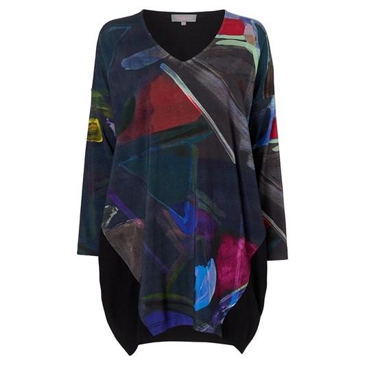 Sahara London Paintbox Print Jersey Tunic