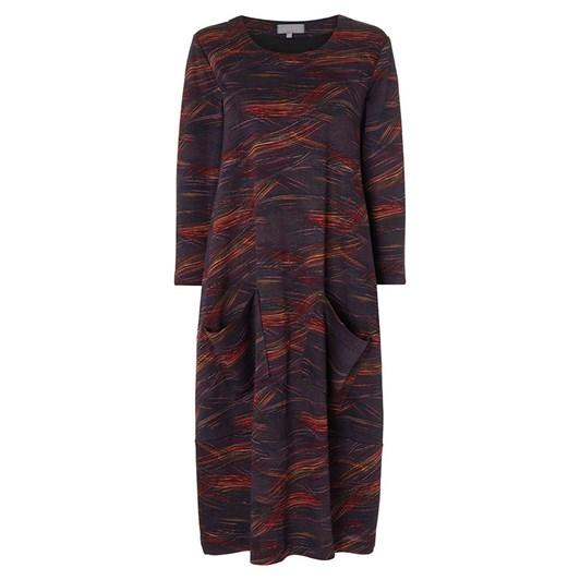 Sahara London Kinetic Jersey Bubble Dress