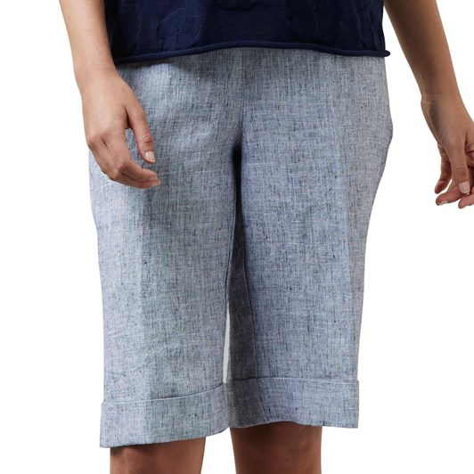 Visage Pixel Linen Shorts