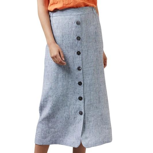 Visage Pixel Linen Skirt