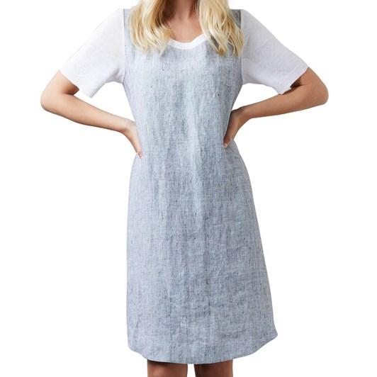 Visage Pixel Linen & Knit Dress