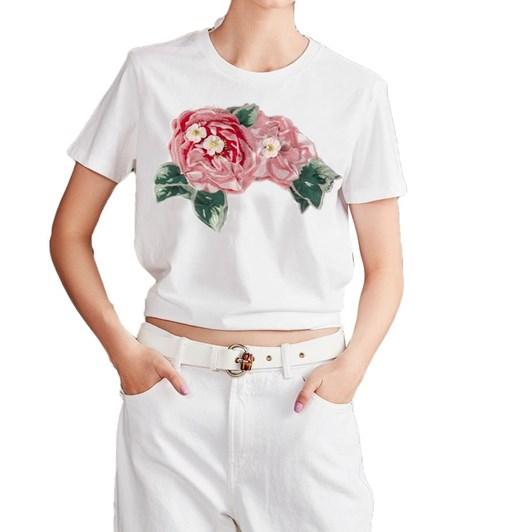 Trelise Cooper Life Rose On T-Shirt