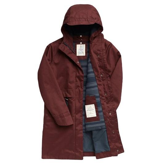 Seasalt Polperro 3 Season Coat Dark Rye