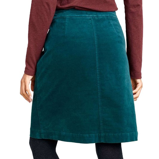 Seasalt Wave Worn Skirt Dark Lake
