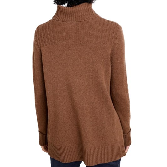 Seasalt Soda Ash Jumper Chestnut