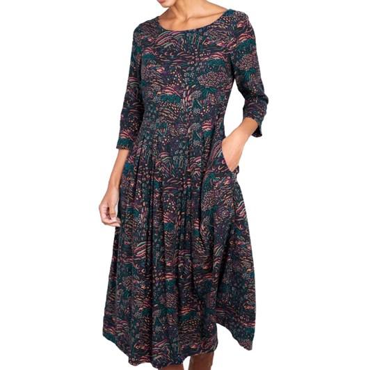 Seasalt Folk Tale Dress Penwith Landscape Dark Night